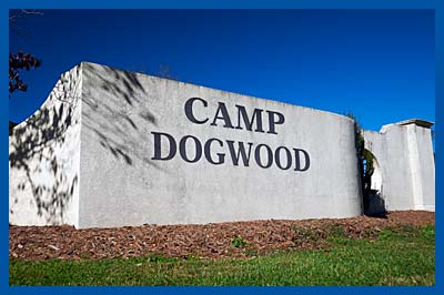Camp Dogwood Entrance